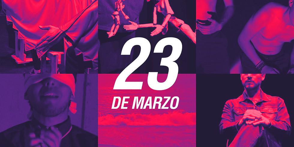 23 marzo   Tercer Maratón de Teatro   Boletos