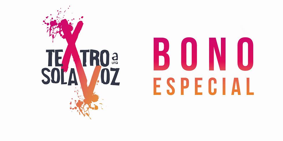 Adquiere bonos especiales para el XV Teatro a una Sola Voz - Festival de Monólogos