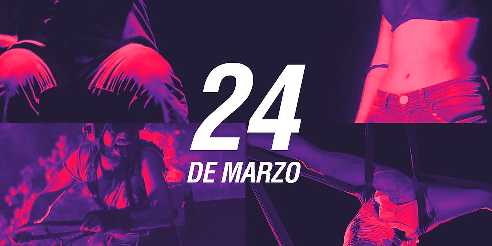 24 de marzo   Tercer Maratón de Teatro del Polivalente   Boletos