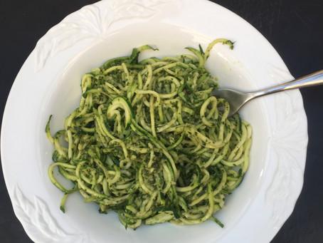 Courgetti Pesto
