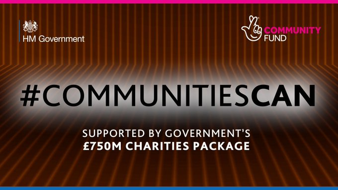 As part of the Government's £750m support package for charities, ICS is delighted to have received f
