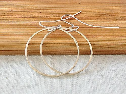 Dangling Hoop earrings