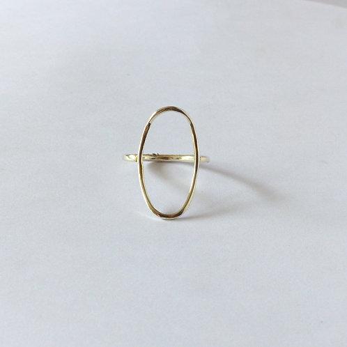Geometirc ring, Long oval