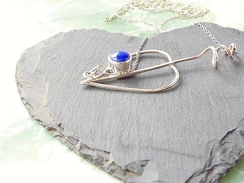 Sweetleaf necklace with Lapis Lazuli