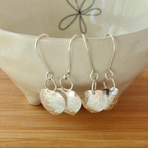 Pepperonia leaf earrings
