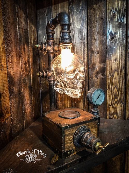 Dark Nite - Industrial Pipe Lamp