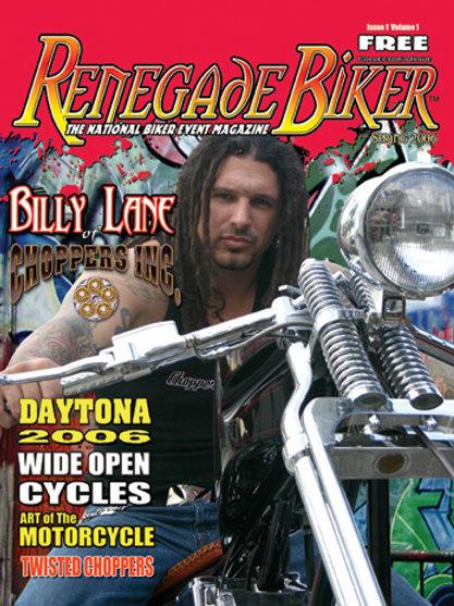 Renegade Biker Magazine #1