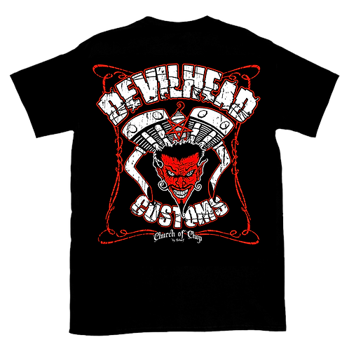 Devilhead Customs - t-shirt