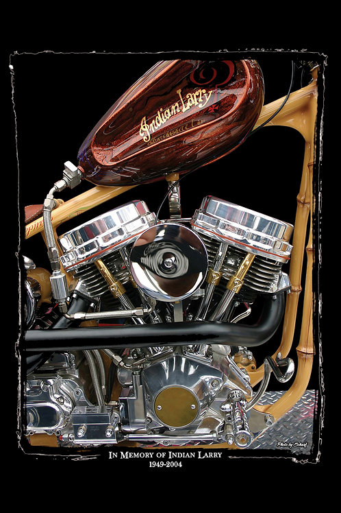 Indian Larry Tribute - Fine Art Print