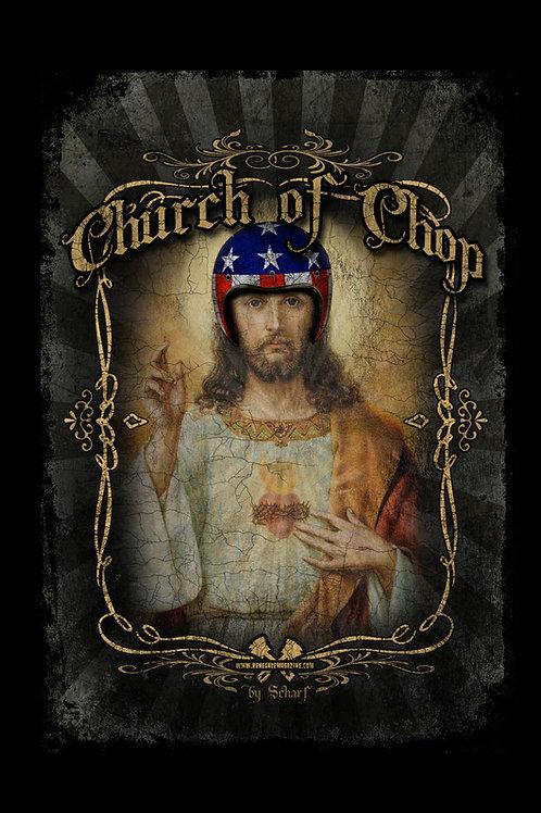 Hot Rod Jesus - Fine Art Print