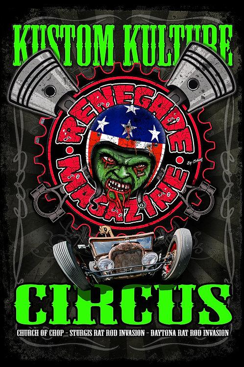 Kustom Kulture Circus - Poster