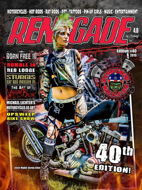 Renegade Magazine Issue #40