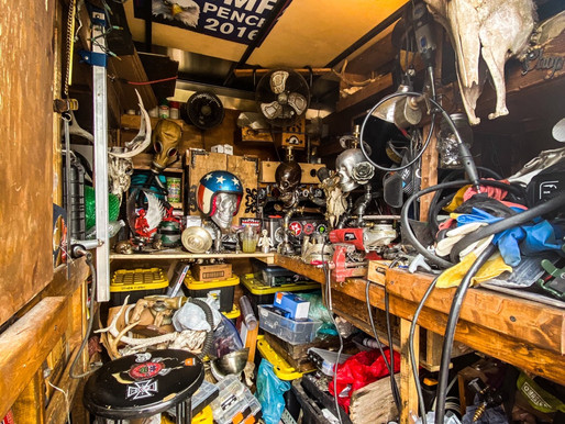 Inside my mobile studio