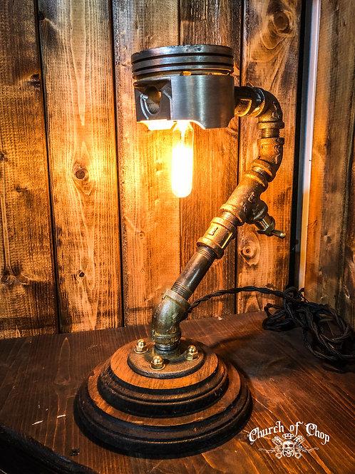 Industrial Piston Desk Lamp