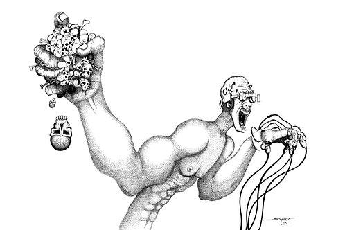 Virtual Insanity - Fine Art Print