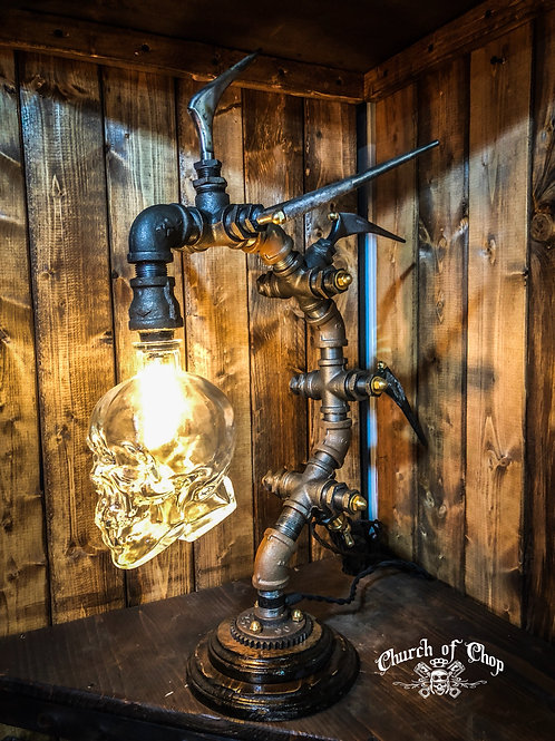 Icarus - Industrial Steampunk Lamp