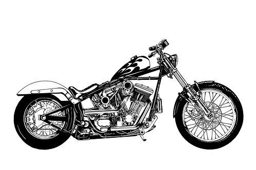 Speedster - Fine Art Print
