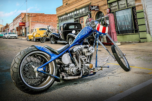 A real American Chopper - Fine Art Print