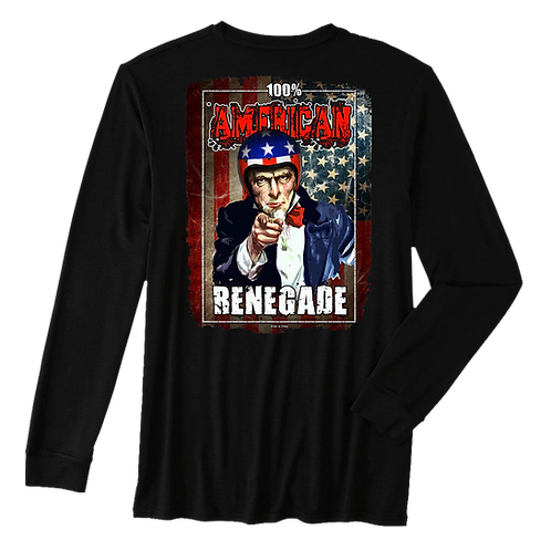 100% American Renegade - Long Sleeve Thermal