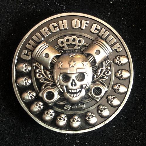 Panhead collector coin