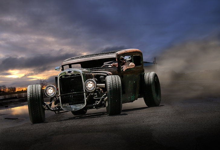 Ratrod Burnout!