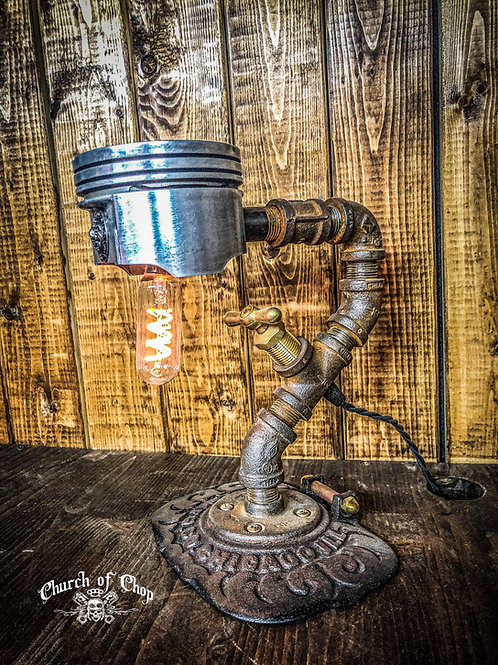 Piston Desk Lamp