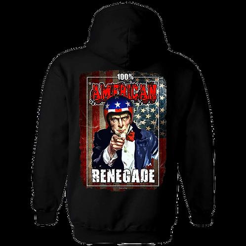 100% American Renegade - Hoody