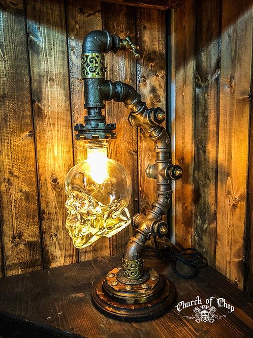 Dark Skull - Industrial Lamp