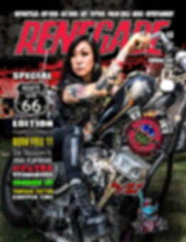 Cover Renegade Magazine Issue 41