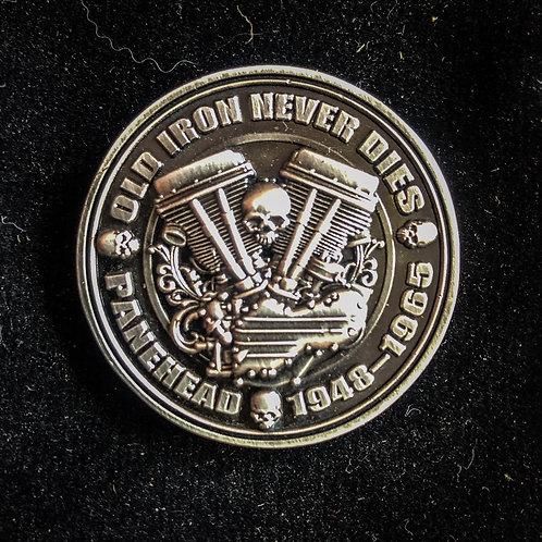 Panhead collector coin