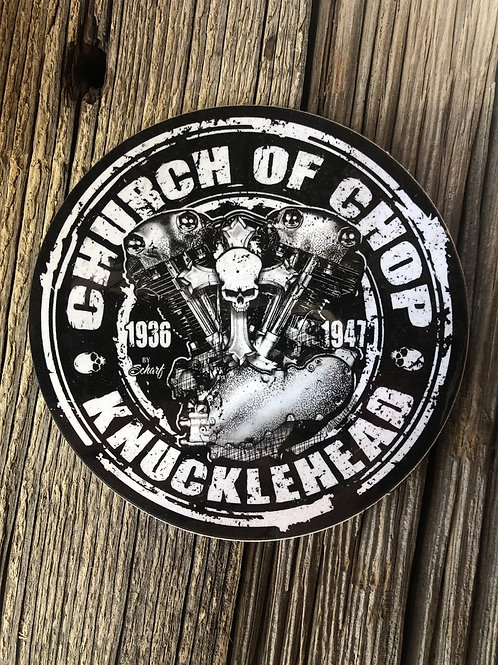 Knucklehead - Sticker