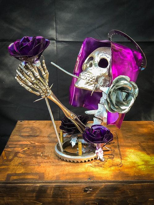 Santa Muerte - Metal Art