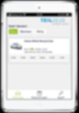 Teizeug Plattform, abrechnen, reservieren, öffnen und schließen mit smartphone, ohne schlüssel, car sharing, renault zoe