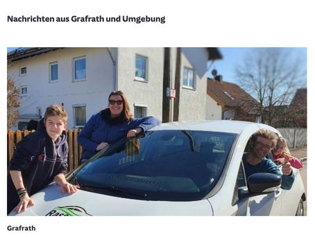 Ein funktionierendes Carsharing Modell –herzlichen Dank an die Nutzer und an die Gemeinde Grafrath