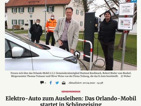 Neben dem RassoCar in Grafrath gibt es jetzt zusätzlich das Orlando Mobil in Schöngeising.