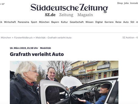 TEILZEUG: das neue E-Carsharing für die Bürger von Grafrath und Schöngeising