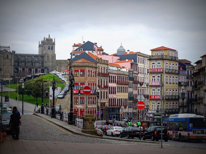 Magnifique vue devant la gare de Porto