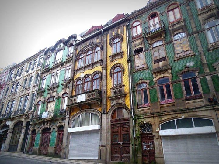 Une des magnifiques rues de Porto