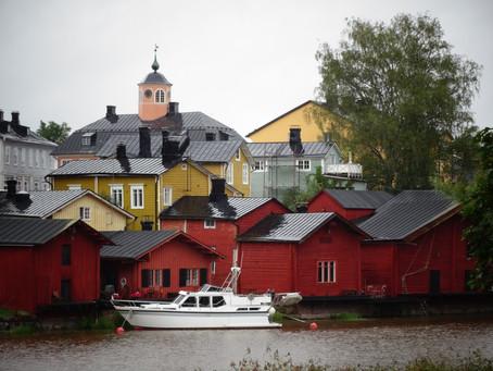 Porvoo: le petit havre de paix Finlandais!