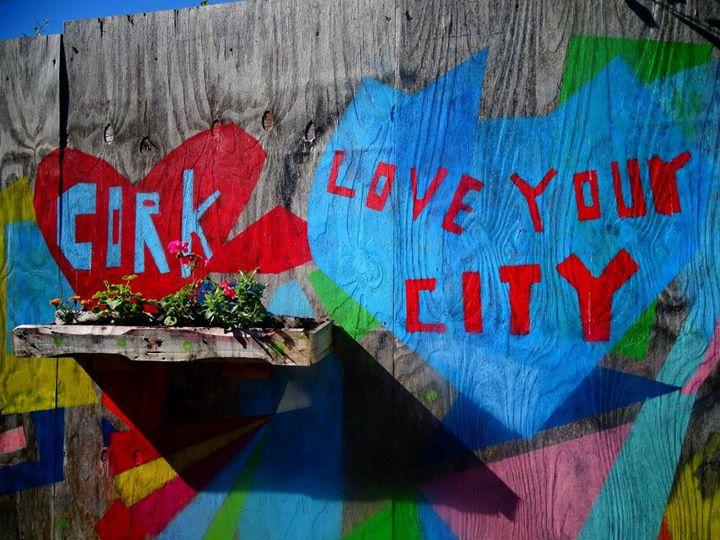 Se perdre dans les rues de Cork, et tomber dans une ruelle pleine de Street Art magnifique!