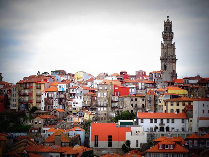 Vue depuis le Sé do Porto!