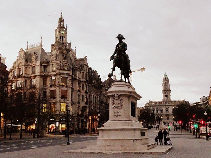 Place de la République de Porto