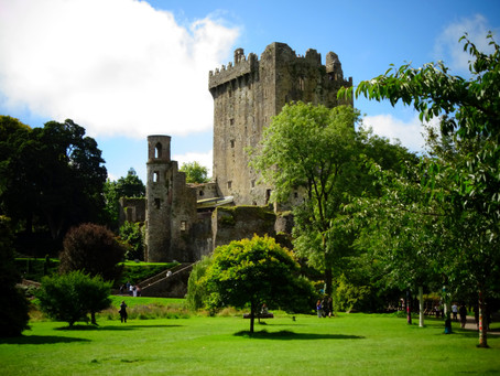 Retour dans le temps au Blarney Castle!