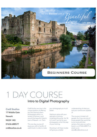 Beginners Photographic Course