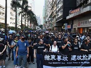 CCP's reality : Gulag Hong Kong