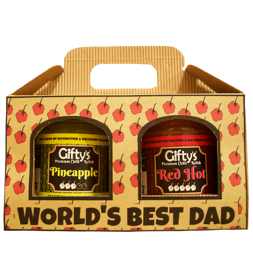 Father's Day 2-jar gift box