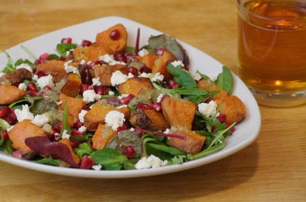 Sweet potato salad with Gifty's® Cucumber Chilli Relish