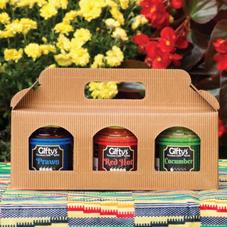 Standard 3-jar gift box
