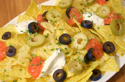 Nachos with Gifty's® Red Hot Chilli Relish
