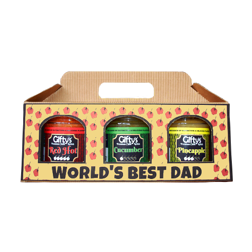 Father's Day 3-jar gift box